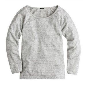 J. CREW | featherweight french terry sweatshirt